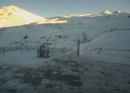 Nevadas de ayer dejan una blanca Cordillera