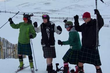 Buena temporada de esquí en Escocia