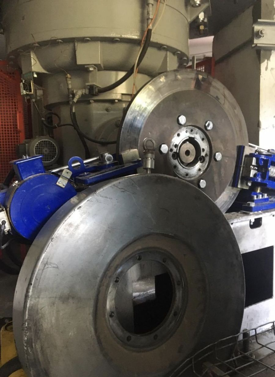 Motor telecabina Les Angles