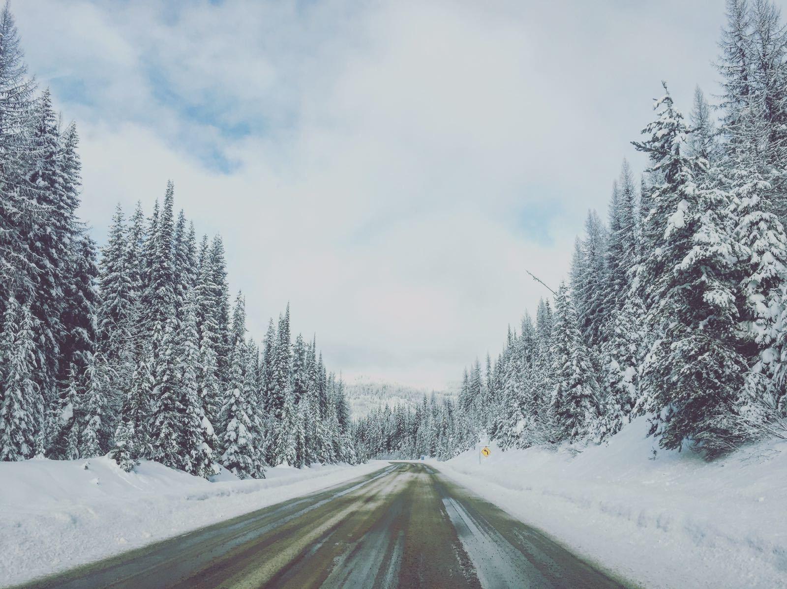 Carretera hacia Revelstoke