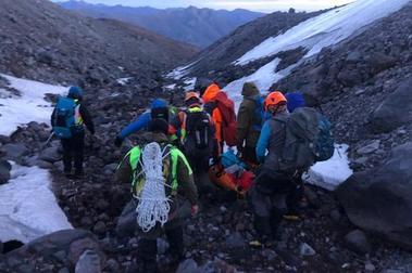 Montañista muere tras caer 100 mts. en Termas de Chillán