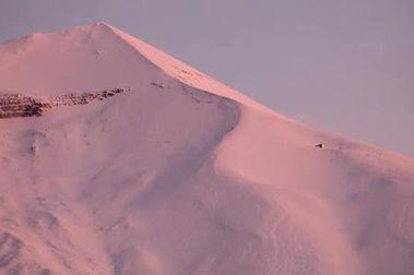 Así amaneció Corralco tras la última nevada