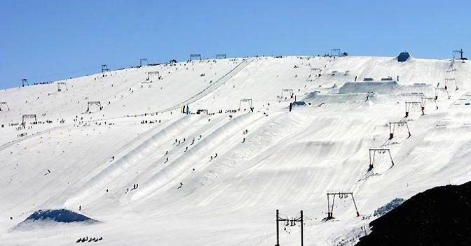 Esquiar en verano, ¿vacaciones en familia?
