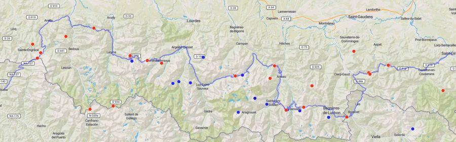 Rutas del Tour por el Pirineo