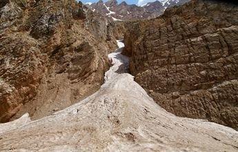 El glaciar sub-tropical del desierto de Irán