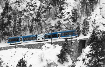 FGC renueva su acuerdo con Renfe para ir a esquiar en tren a La Molina y Núria