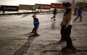 Una fiesta flúor para niños en La Parva