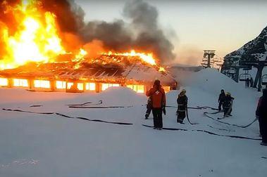 Confirmado: Incendio en parador La Piedra en La Hoya fue intencional