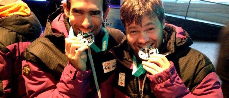 Gran comienzo de temporada de los esquiadores paralímpicos españoles