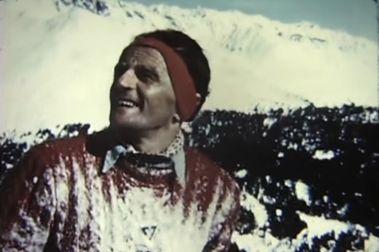 Esquiando por puro instinto. Helmut Lantschner 1950