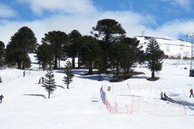 Caviahue, el reino de la nieve