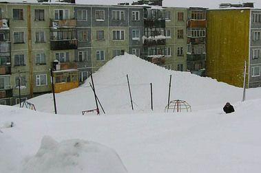 Consecuencias de una brutal nevada