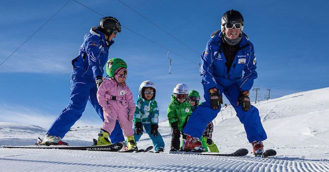 ¿Son demasiado caras las clases de esquí?