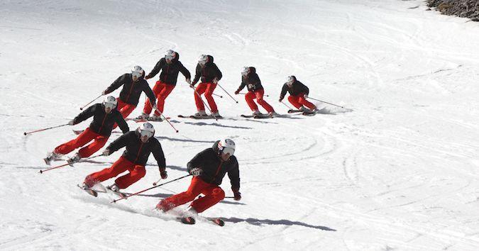Back to basics: La 'centralidad' al esquiar