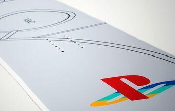 Sony lanza una tabla de snowboard Playstation