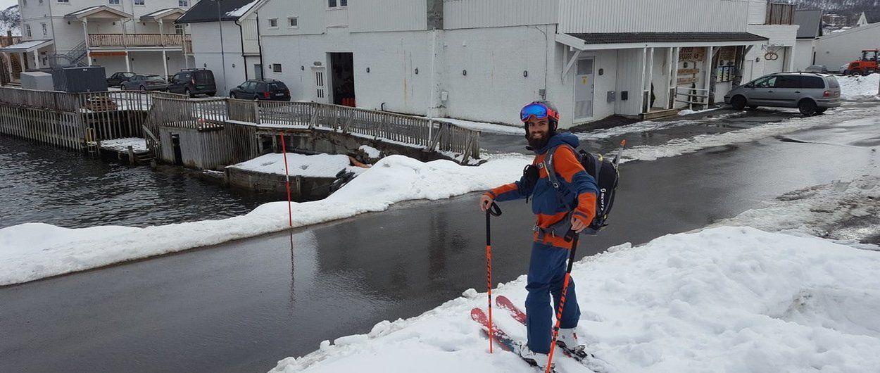 Esquí de montaña en Senja - Los paseos con esquís