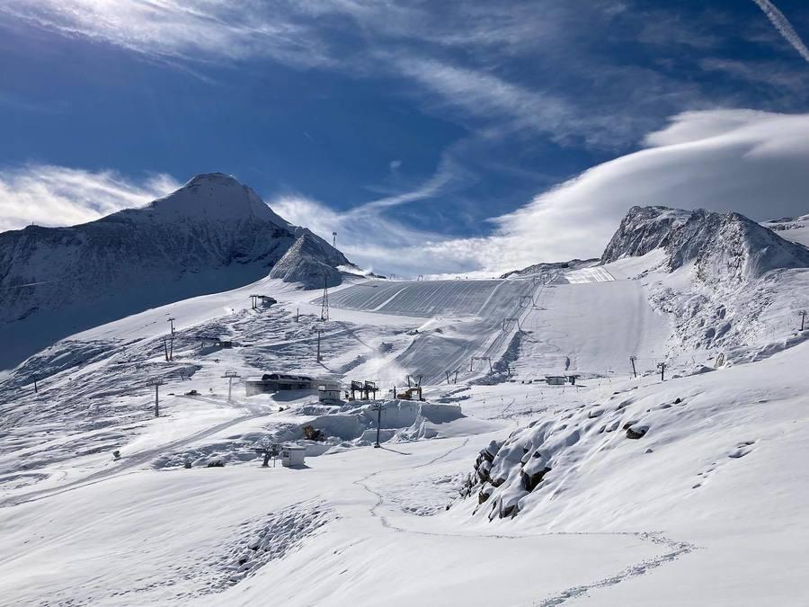 glaciar Kaprun