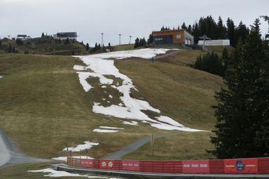 Kitzbühel cierra la pista de esquí de la Hahnenkamm  por falta de nieve