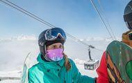La mascarilla en Francia será obligatoria en esquiadores/as mayores de 11 años