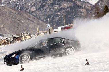 Maserati Winter Tour: Diversión con control en la  nieve