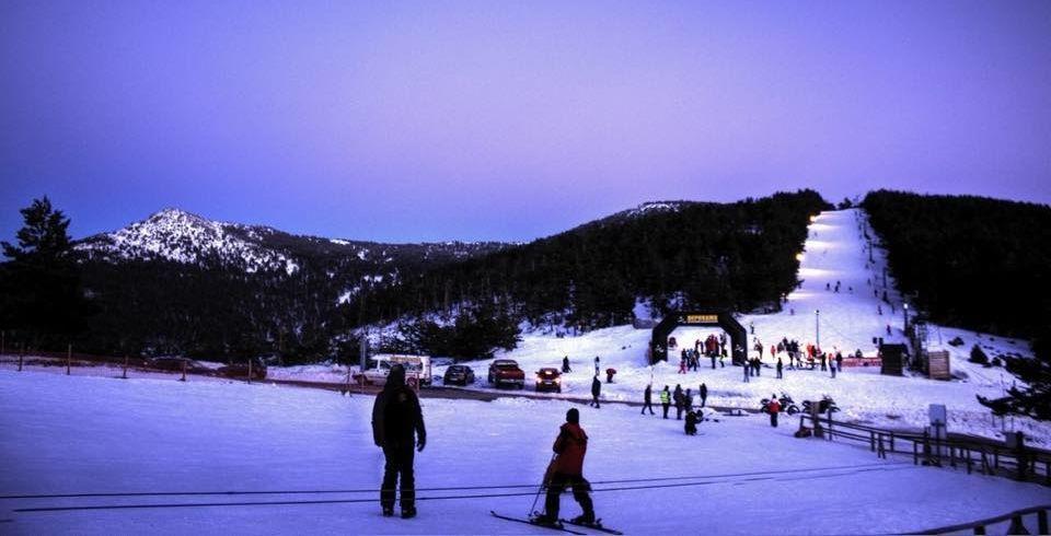 Esquí nocturno en Santa Inés