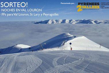 Pyrenees2Vallees sortea un fin de semana en Val Louron
