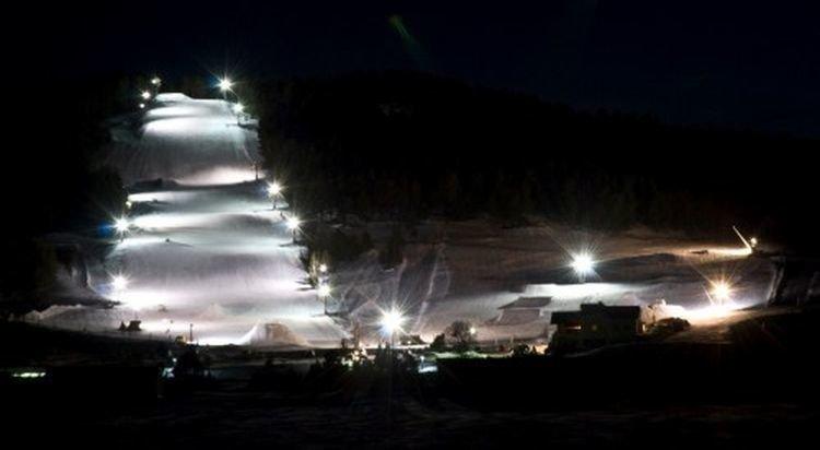 La Quillane ski noturne