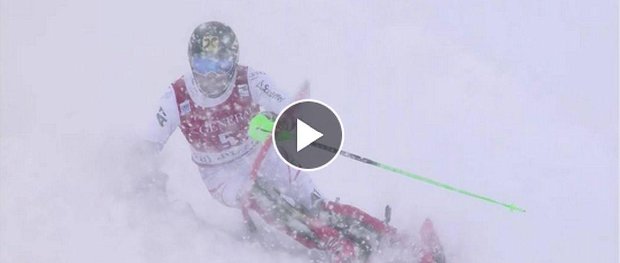 Hirscher se impone en Val d'Isère y ya está a 11 puntos del liderato