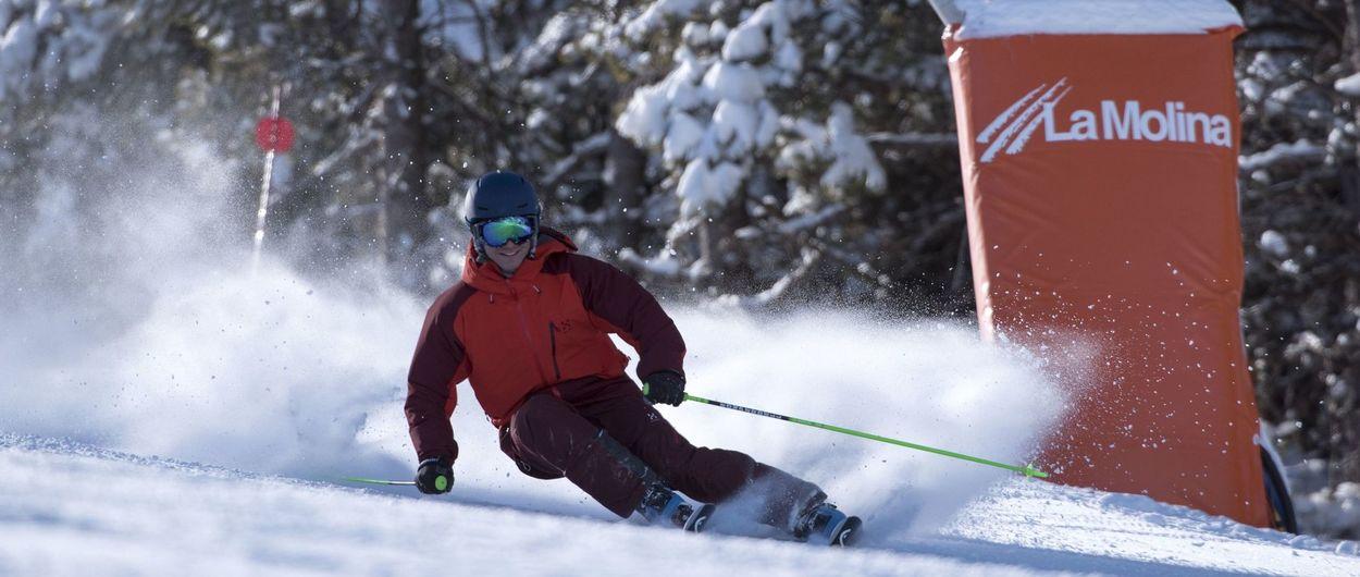 Las estaciones del Grup FGC comienzan con buena afluencia de esquiadores