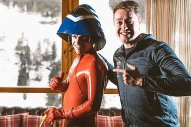 Jan Farrell busca en España esquiadores que quieran lanzarse a más de 200 km/h