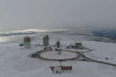 Estância de Esqui da Serra da Estrela triplica su capacidad de fabricación de nieve