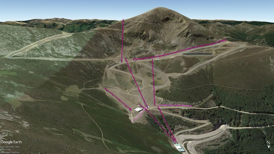 Vista Google Earth Valdezcaray Temporada 2020/21