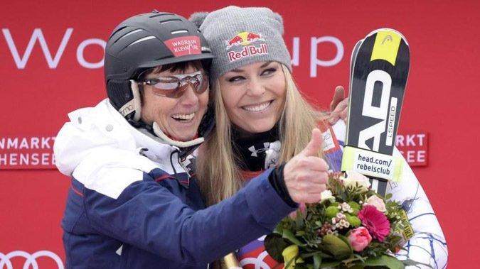 Lindsey Vonn gana en Altenmark y suma un record más