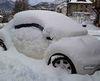 Por qué hay que quitar la nieve del techo del coche