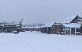 La nevada cubre las estaciones de N'PY