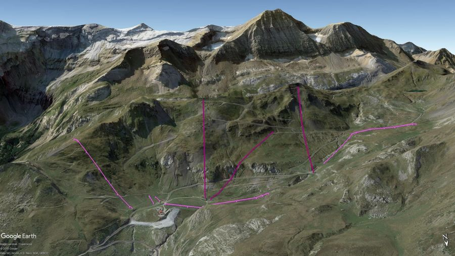 Vista Google Earth Gavarnie 2019/20