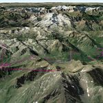 Vista Google Earth Grand Tourmalet 2019/20