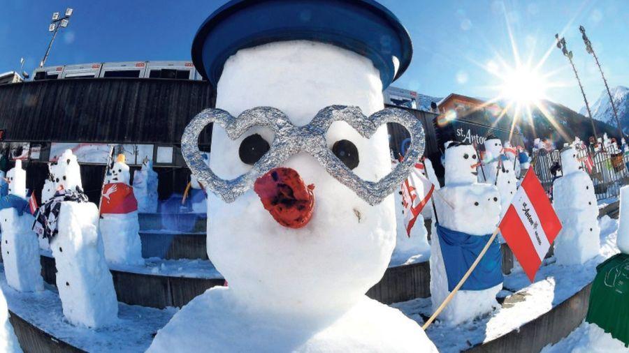 muñecos de nieve publico copa del mundo
