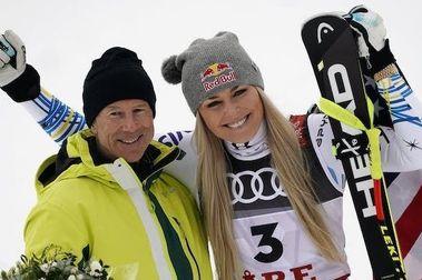 Lindsey Vonn se despide a lo grande: Gana medalla en Are 2019