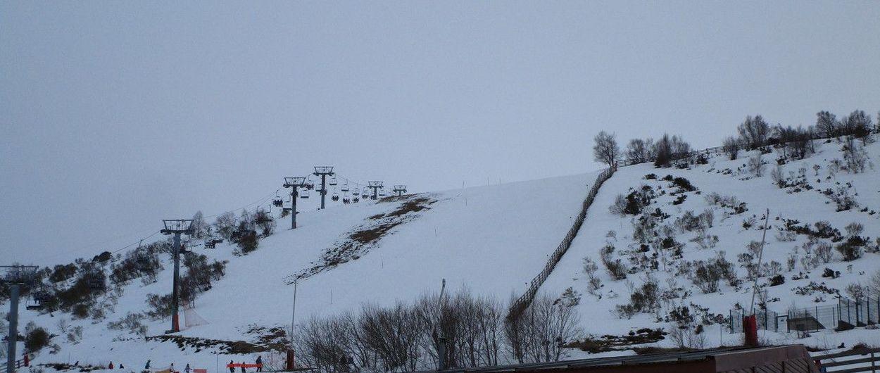 Por fin hemos podido catar la nieve esta temporada en Leitariegos