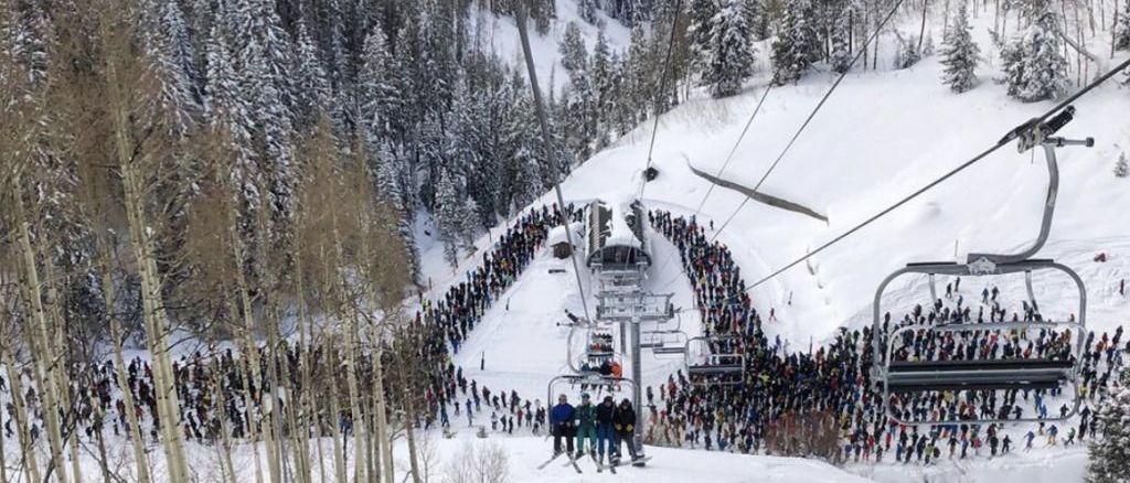 ¿Qué ha pasado realmente en la estación de esquí de Vail? El enigma de unas colas históricas!