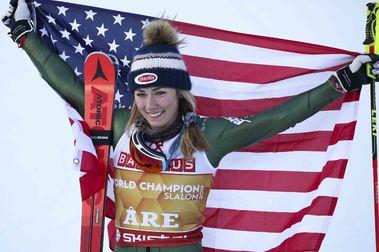 Mikaela Shifrin quería volver a la Copa del Mundo de esquí alpino en Are pero...