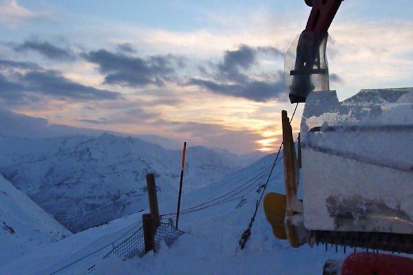 8-3-2011 De Boñar a Alto de San Isidro. La primera esquiada, en Fuentes de Invierno