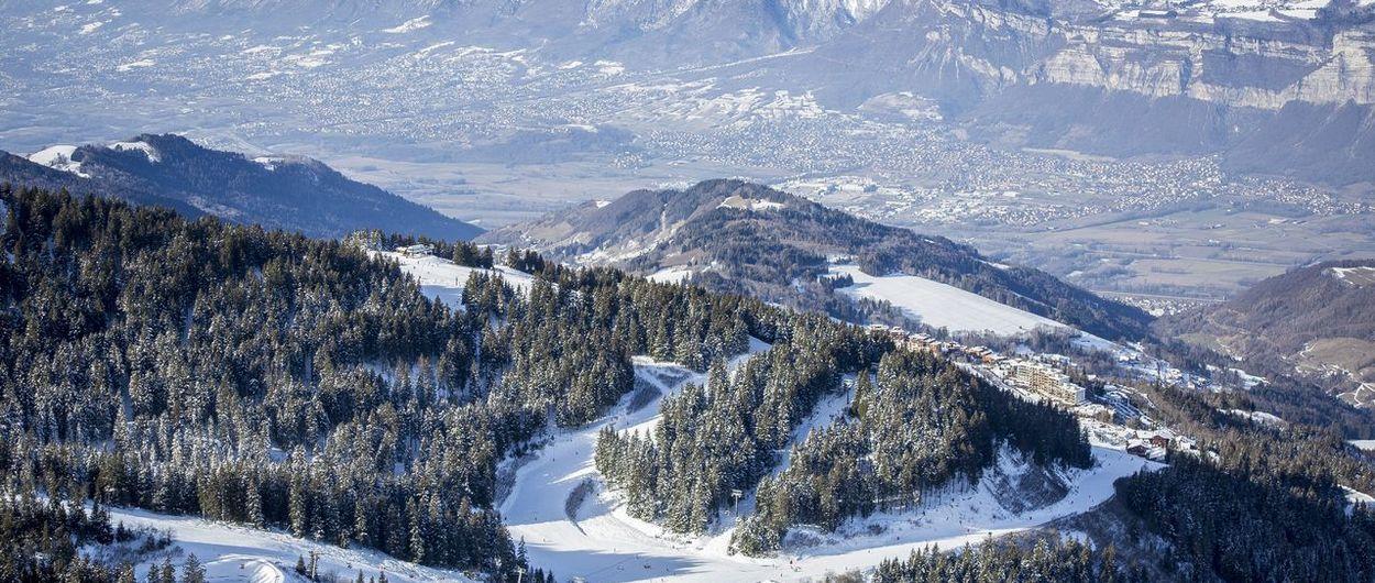 Un día en Les 7 Laux, Alpes franceses