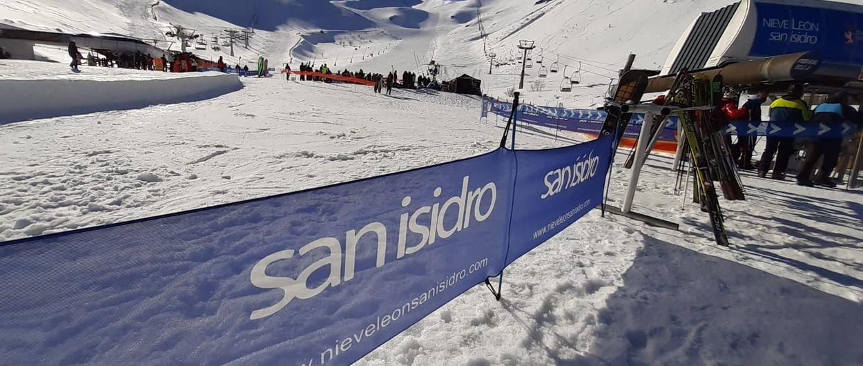 León cierra su temporada de esquí con una pérdida del 40% de esquiadores