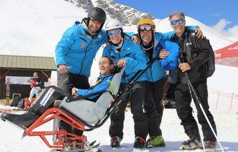 Record de velocidad sobre una silla de esquí