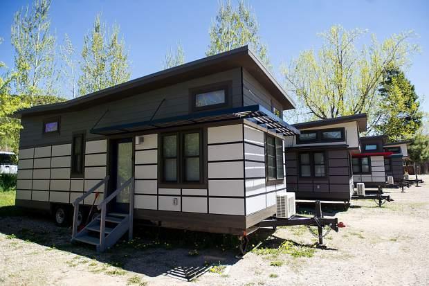 Aspen Tinny houses