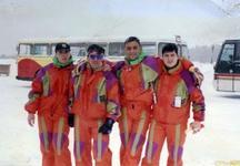 LoPallars y el Saniplast Ski Team, años 90