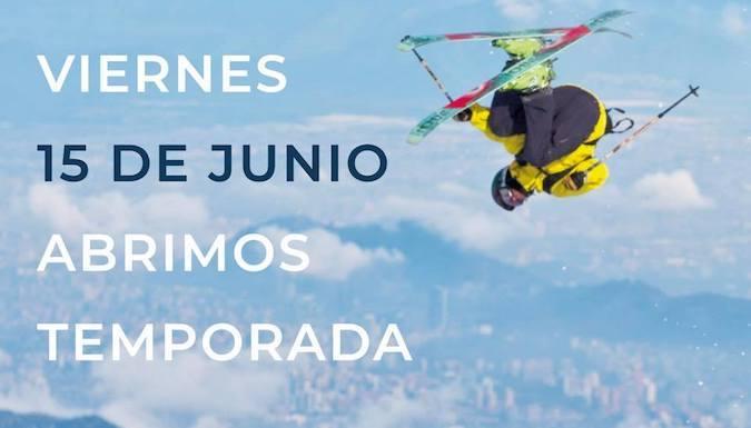 La Parva Inicia la temporada de ski este viernes 15 de Junio