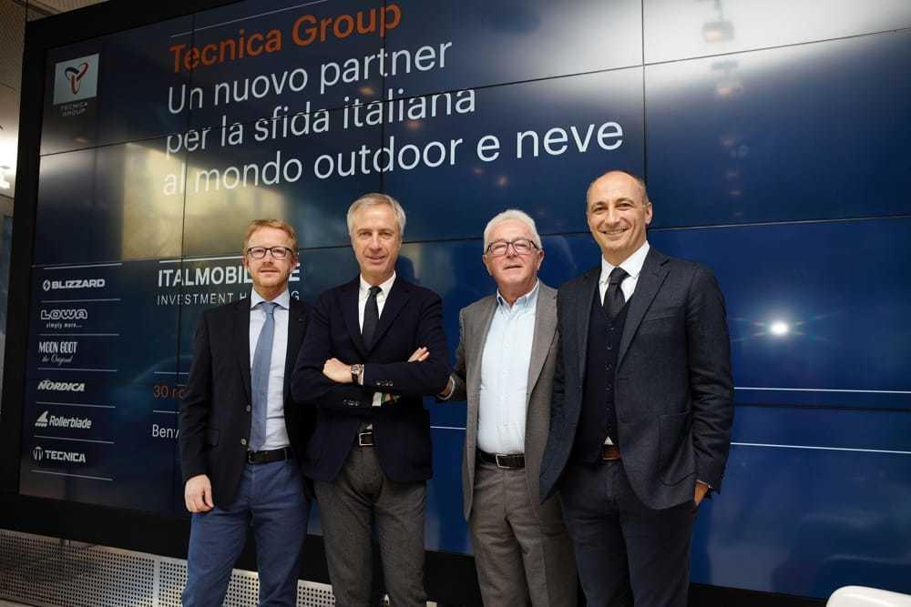 Alberto Zanatta, Carlo Pesenti, Giancarlo Zanatta, Antonio Dus